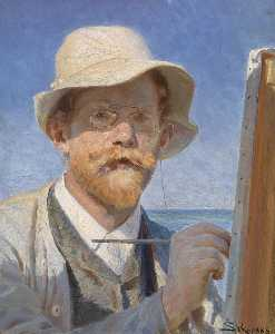 Peder Severin Kroyer - Self portrait