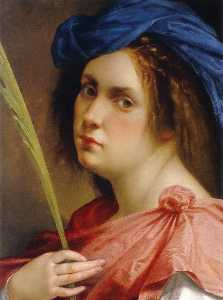 Artemisia Gentileschi - Self-portrait as a Female..