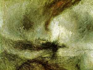 William Turner - Show Storm - Seam-Boat of..