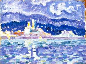 Paul Signac - The Storm, Antibes