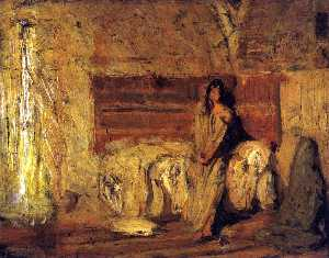 Henry Ossawa Tanner - Study for The Annunciation