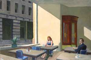 Edward Hopper - Sunlight in a Cafeteria