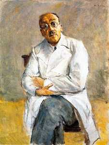 Max Liebermann - The Surgeon Dr. Ferdinand..