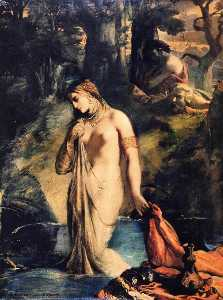 Théodore Chassériau - Susanna and the Elders