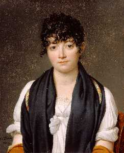 Jacques Louis David - Suzanne Le Pelletier de S..