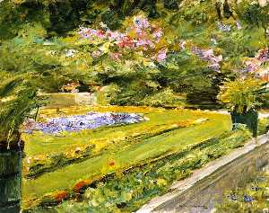 Max Liebermann - The Terrace in the Wannse..
