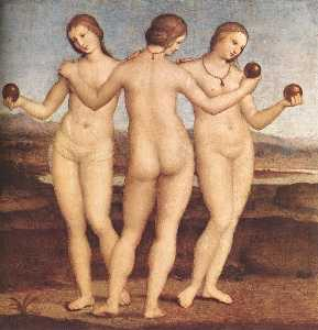 Raphael (Raffaello Sanzio Da Urbino) - The Three Graces