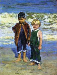 Edward Henry Potthast - Two Boys