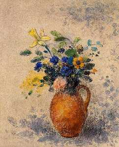 Odilon Redon - Vase of Flowers (15)