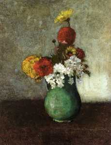 Odilon Redon - Vase of Flowers (16)