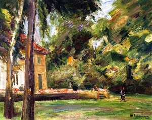 Max Liebermann - View from the Birch Avenu..