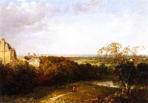 Thomas Doughty - View Toward London from H..