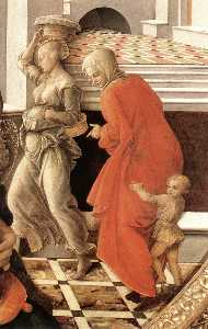 Fra Filippo Lippi - Virgin with the Child and..
