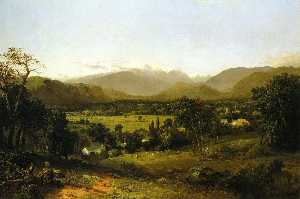John Frederick Kensett - -The White Mountains (also known as Mount Washington from the Valley of Conway)-