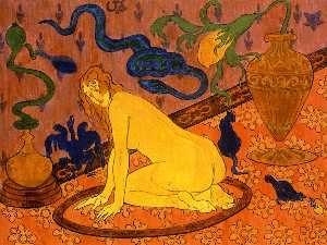 Paul Ranson - The Witch in Her Circle