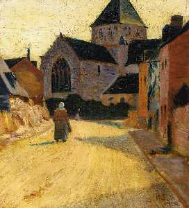 Paul Serusier - Woman in a Street