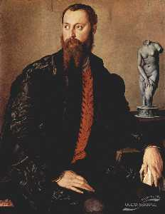 Agnolo Bronzino - Portrait of a gentleman
