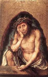 Albrecht Durer - Christ as the Man of Sorrows