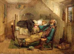 Thomas Faed - Worn Out