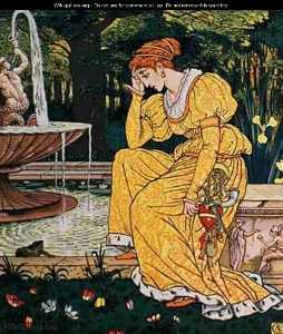 Walter Crane - Frog Prince And The Maide..