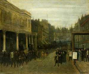 Walter Greaves - The Haymarket