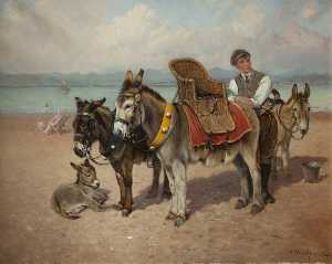 William Arnold Woodhouse - The Donkey Boy