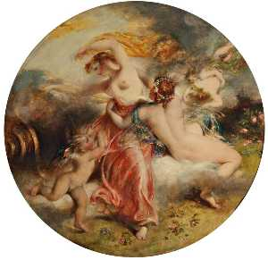 William Etty - Aurora And Zephyr