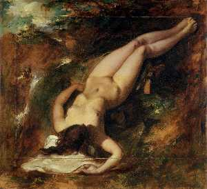 William Etty - The Deluge
