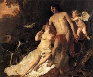 Jacob Adriaensz Backer - Venus And Adonis