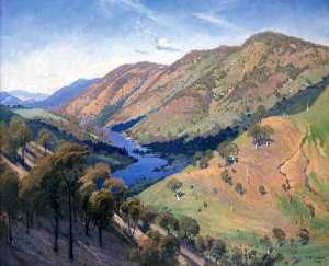 Elioth Gruner - Cotter And Murrumbidgee Rivers