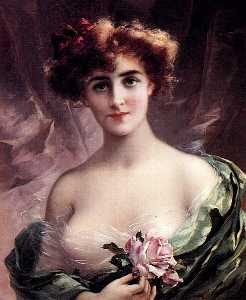 Emile Vernon - The Pink Rose