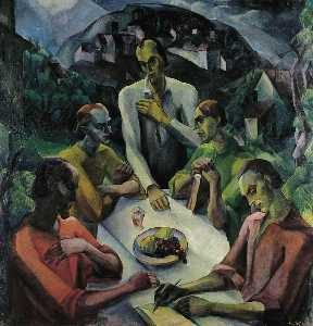 Gyula Derkovits - The Last Supper
