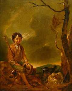 Thomas Barker - Shepherd Boy