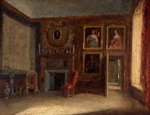 Charles Robert Leslie - The Queen's Private Bedch..