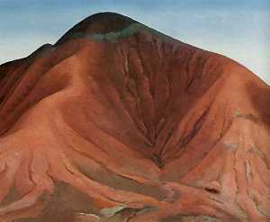 Georgia Totto O-keeffe - Small Purple Hills
