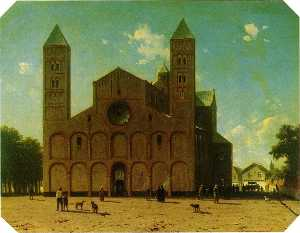 Jan Weissenbruch - St. Mary's Church At Utre..