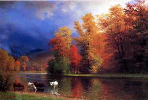Albert Bierstadt - On the Saco