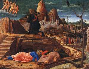 Andrea Mantegna - Christ on the Mount of Olives -