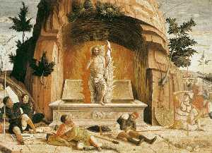 Andrea Mantegna - resurrection