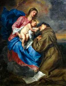 Anthony Van Dyck - The Vision of Saint Antho..