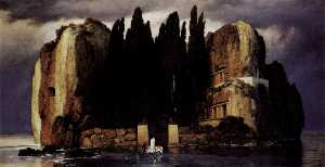 Arnold Bocklin - Island of the Dead (Versi..