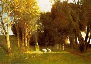 Arnold Bocklin - the sacred wood