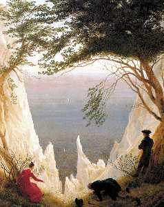 Caspar David Friedrich - Chalk Cliffs on Rugen