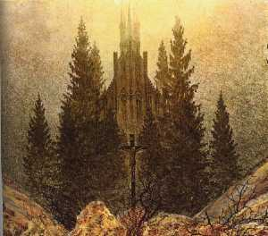 Caspar David Friedrich - The Cross on the Mountain..