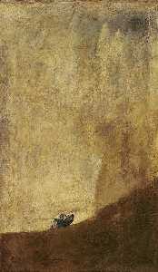 Francisco De Goya - The dog - -