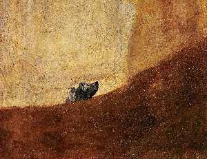 Francisco De Goya - The dog