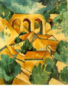 Georges Braque - Viaduct at L_Estaque