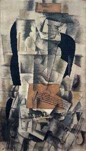 Georges Braque - Woman with a Guitar