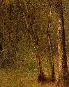 Georges Pierre Seurat - Forest at Pontaubert