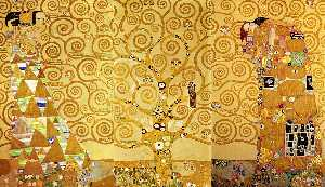 Gustav Klimt - Expectation - Tree of life (Arbol de la Vida) - Fulfilment